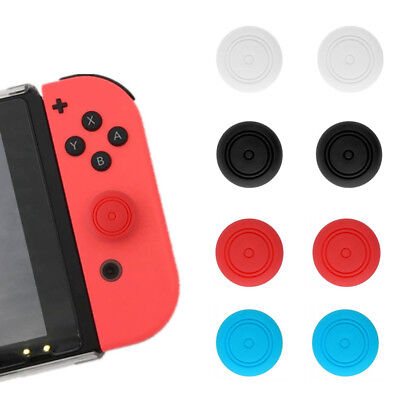 6pcs Thumbstick Thumb Stick Grip Caps Cover Padded For Nintendo Switch Joy Con