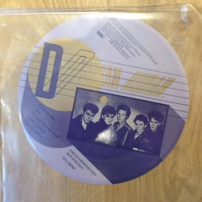 "Duran Duran Fan Club 6"" Flexi Disc Never Played 1983"