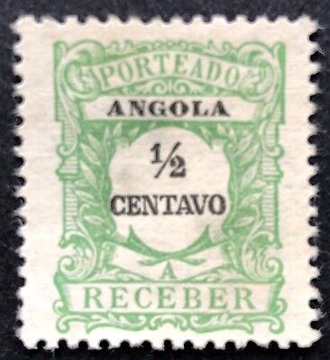 Postage Due 1921 Used Angola Stamp for Sale