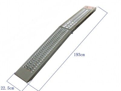 1.8m Wide Track Folding STEEL Motorcycle/Bike/Motorcycle Loading Ramp