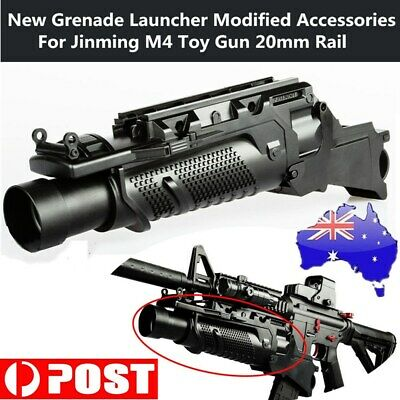 2019 Jinming M4 SCAR V2 Grenade Launcher Accessories Gel Ball Blaster Toy Gun