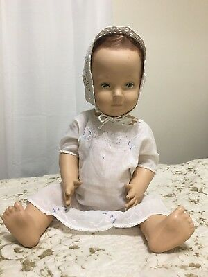 Vintage Store Mannequin Doll Life Size Baby Toddler Jointed - Sweet Face