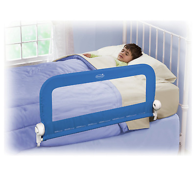 Summer Infant Grow With Me Bedrail Bed Rail Blue Child/Toddler Safety Guard