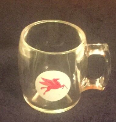 Vintage Mobile Oil Coffee Cup