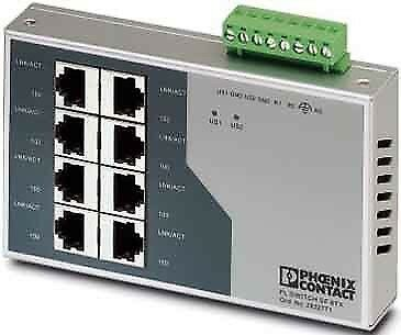 Phoenix Contact Ethernet Switch FL SWITCH SF 8TX 2832771 Switch Ethernet