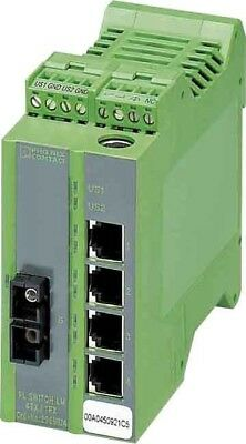 Phoenix Contact Ethernet Managed Switch FL SWITCH LM 4TX1FX 2989624 Switch