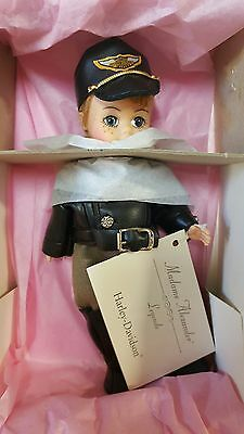 "Madame Alexander 8"" Harley Davidson Mortorcycle Billy Biker Boy Doll 1997 NRFB"