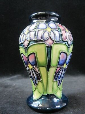 A Small Moorcroft Tube Lined Vase