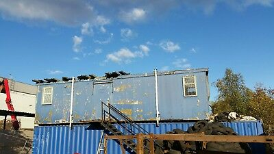 Portacabin/Office/Home 34 ft Can be perfect for scrap yard or site/ 2 Rooms