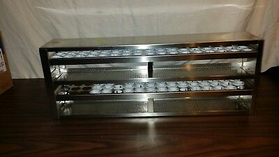2 drawer (51 Slot each) Stainless Steel Freezer Rack 50ml tubes Conicals 1200C55