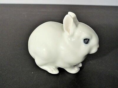 Royal Copenhagen White Rabbit #4705