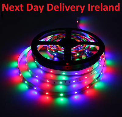 5M 3528 Waterproof IP65 SMD RGB 300 LED Strip Fairy Party Lights Lamp Remote