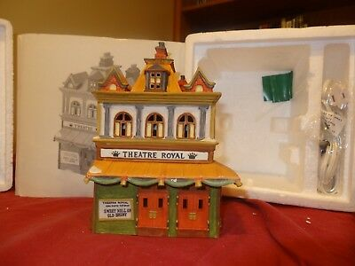 Dept 56 /Heritage Village Collection /Dickens Village/ Theatre Royal 5584-0