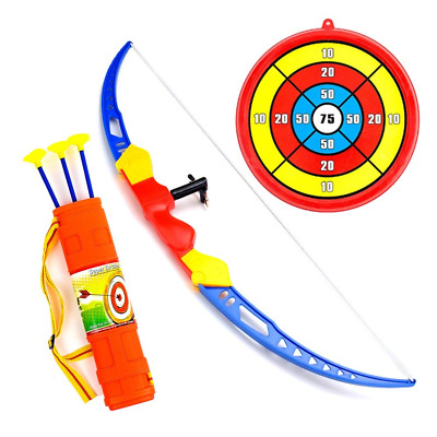 Archery Set for Kids, Toddler Action Bow Arrow Kit with Target NEW US Shipping