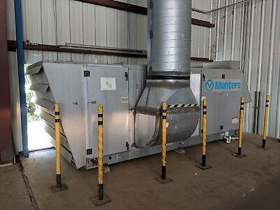 Munters 30 Ton AC DEHUMIDIFIER AND HEATER INDUSTRIAL WAREHOUSE