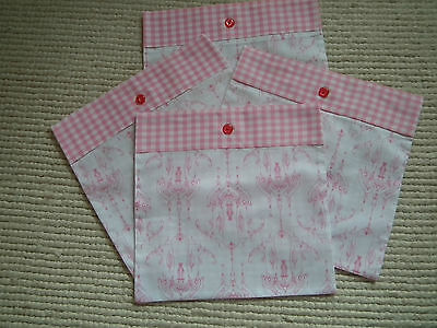 Set of 4 Hand made Cushion Cover 12 x 12
