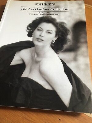 Sothebys The Ava Gardner Collection Auction Catalog
