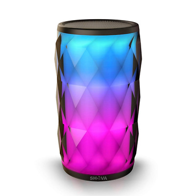 Night Light Bluetooth Speaker Portable Wireless Touch Control RGB 6 Color LED US
