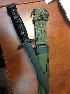 M7 Bayonet Imperial-Military- New Scabbard Nam Era