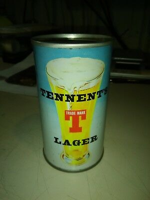 TENNENTS LAGER Penny in the Evening 1950'S 12OZ FLAT TOP CAN