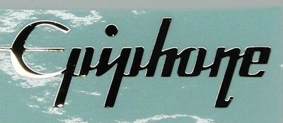 Epiphone Les Paaul Guitar sticker  Headstock Neck METAL decal  premium