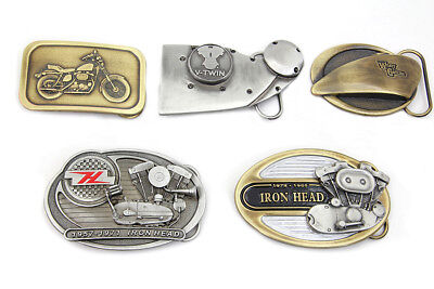 V-Twin Ironhead Series Belt Buckle Set for All Harley Lovers!