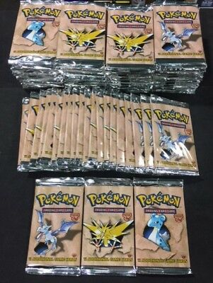 Pokemon Fossil 1st Edition TCG Factory Sealed English Booster Pack