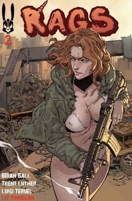 Rags #2 Patreon Edition Uncensored Self Published HTF Pre Order Normie Cover NM