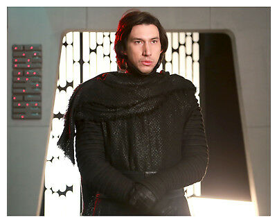 "-- STAR WARS -- ""KYLO REN"" (ADAM DRIVER) - 8x10 Glossy Photo"