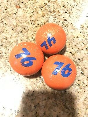 Rare Nos Vintage Early No White Outline On 76 Union 76 Antenna Balls