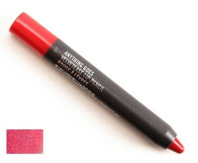 MAC Velvetease Lip Pencil Lipstick - ANYTHING GOES (red) new Boxed