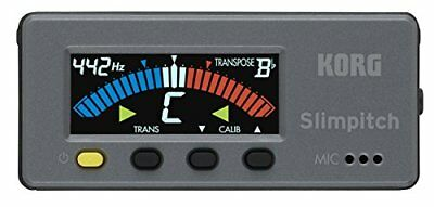 KORG compact tuner color LCD Slimpitch Slim pitch black