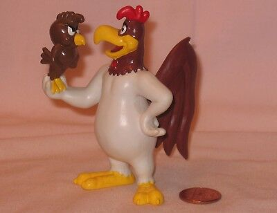 Looney Tunes Foghorn Leghorn & Henery Hawk PVC Figure; Applause 1988