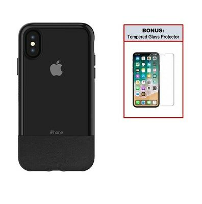 Otterbox Bundle Case for iPhone X with Tempered Glass Screen Protector