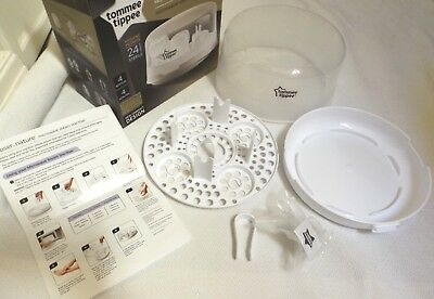 Brand New Tommee Tippee Microwave Steam Steriliser With Instructions & Boxed