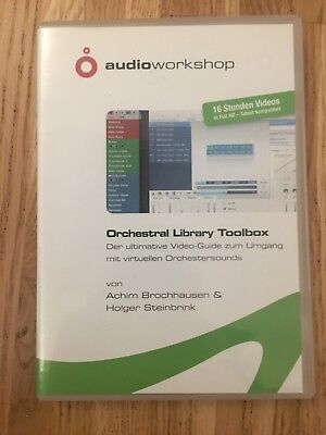 Orchestral Library Toolbox DVD Audio Workshop 16 Stunden Videos +++ Cubase