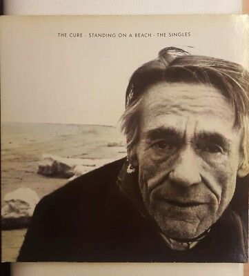 The Cure--Standing In A Beach-Singles Lp Vinyl Ger.press 1986 Fiction Rec.ois