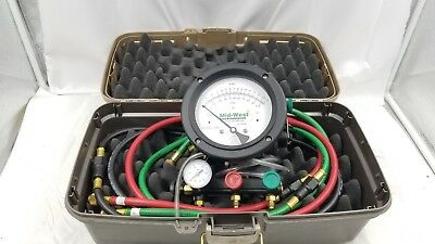 Midwest Back Flow Test Kit 845-5