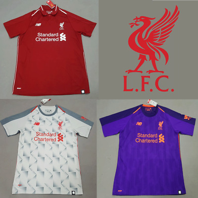 NEW Liverpool 2018/19 Home/Away/Third Jersey - Salah, Shaqiri, Keita, Mane [UK]