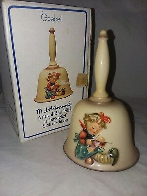 MJ Hummel Annual Bell 1983 Sixth Edition In Original Box Goebel Western Germany