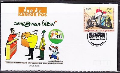 Indonesia 2008 Kantor POS Semu  First Day Cover