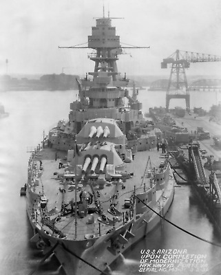 WW2 WWII Photo USS Arizona BB-39 in 1931 US Navy World War Two / 7196