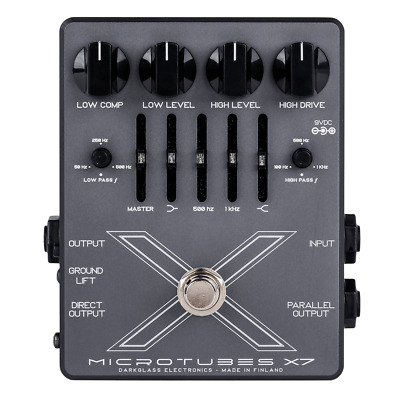 Darkglass Microtubes X7 Bass Distortion Pedal!
