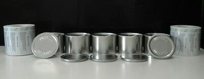 Press It In Tins self seal cans (3.5g-7g) 5 of them and 5 x rx medical labels