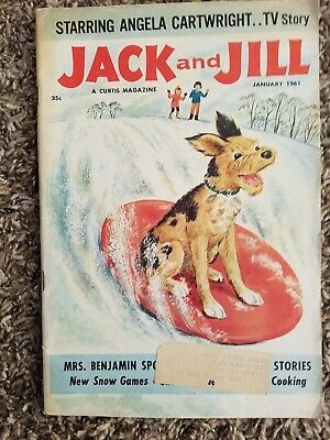 """Vintage """"Jack and Jill"""" Children's Magazine dated January, 1961"""