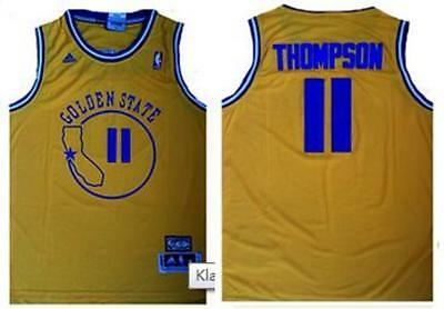 sneakers for cheap 77b99 a9696 klay thompson throwback jersey