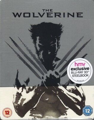The Wolverine - 3D/2D Limited Edition Steelbook [Blu-ray] New!!