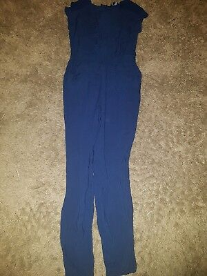 Girls New look Generation... Royal blue Play suit....age 13 years