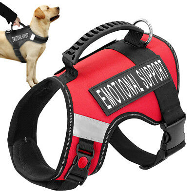 Emotional Support Dog Harness With Handle for Large Dogs ESA Service Pet Vest