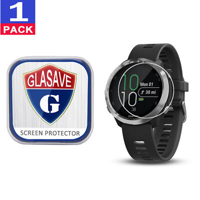 (1Pack) GLASAVE Garmin Forerunner 645/ 645 music Tempered Glass Screen Protector